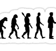 Evolution Pit bull Sticker