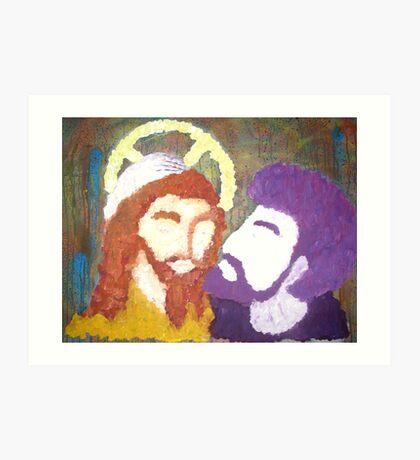 The Kiss of Judas Art Print