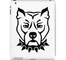 Pit bull head face iPad Case/Skin
