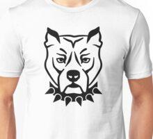 Pit bull head face Unisex T-Shirt