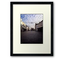Empty truro Framed Print