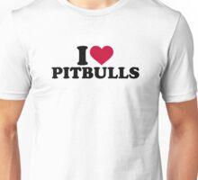 I love Pitbulls Unisex T-Shirt