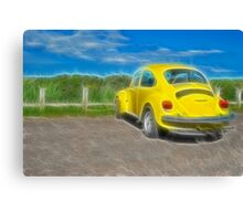 Bright Beetle Canvas Print