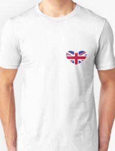 Union Jack Heart Unisex T-Shirt