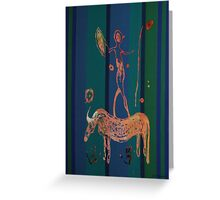 """""""Don Quijote Reloaded"""" 1  Greeting Card"""