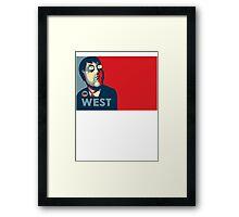 Family Guy Adam West Framed Print