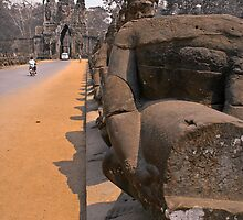 Missing Nagas of Angkor by Stephen Permezel