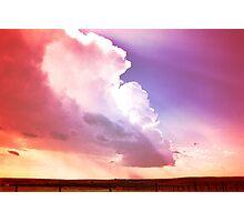 Prairie Sky Photographic Print