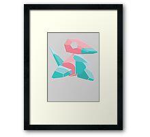 Porygon Framed Print