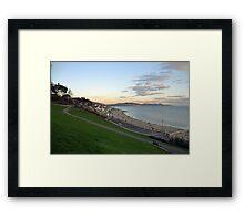 Lyme Regis 2014-12-30-Dorset UK Framed Print