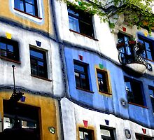 Hundertwasser House by maryej