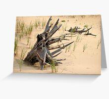 Sand Dune Art Greeting Card