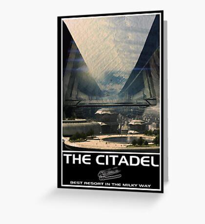 The Citadel Resort Greeting Card
