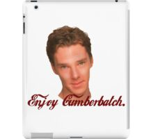 Enjoy Cumberbatch iPad Case/Skin