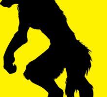 Werewolf Crossing Sticker