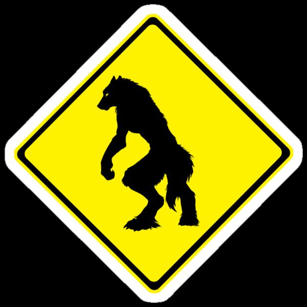 Werewolf Crossing by MaKayla Songer