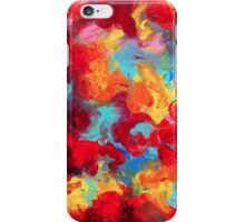 finger painting iPhone Case/Skin