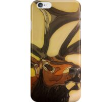 """Casanova"" - Elk Painting iPhone Case/Skin"