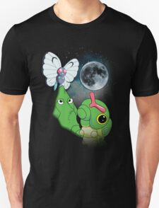 Caterpie Three Evolution Moon T-Shirt