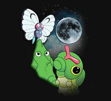 Caterpie Three Evolution Moon Unisex T-Shirt