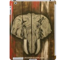 Alabama Elephant - State Pallets iPad Case/Skin