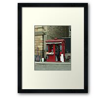 Staff Wanted Framed Print
