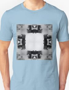 Kaleidoscopic Camera Print  Unisex T-Shirt