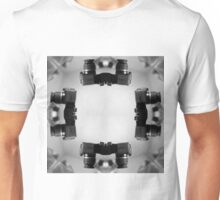 Kaleidoscopic Camera Print  Unisex T-Shirt
