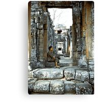 Passing Time - Temples of Angkor, Cambodia Canvas Print