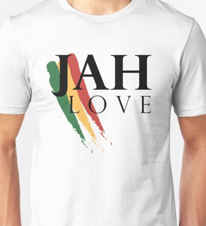 Jah Love ( BLACK ) Unisex T-Shirt