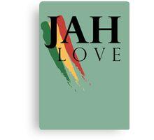 Jah Love ( BLACK ) Canvas Print