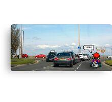Mario-Kart Traffic Canvas Print