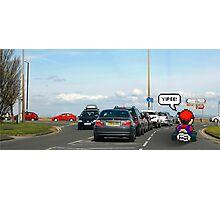 Mario-Kart Traffic Photographic Print
