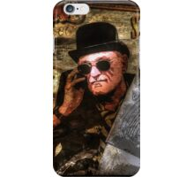 Steampunk Man iPhone Case/Skin