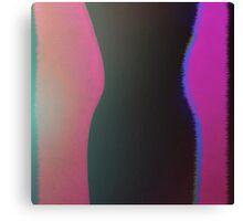 Curvy Silhouette Canvas Print