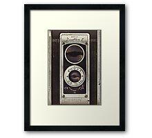 Vintage Camera I Framed Print