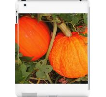 Pumpkin for Fall, Halloween iPad Case/Skin