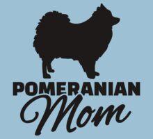 Pomeranian Mom Kids Tee