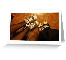 Cute Shoes Greeting Card