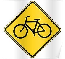 Bicycle Crossing Poster