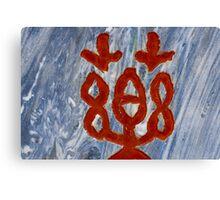 Symbol Canvas Print
