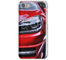 MERCEDES BENZ Front_red iPhone Case/Skin