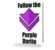 Commander's Compendium - Purple Greeting Card