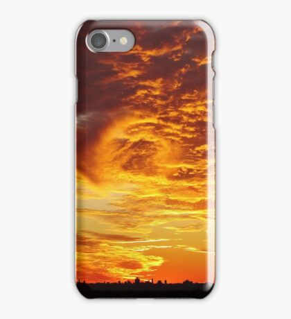 New York City Sunset iPhone Case/Skin