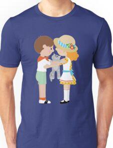 Kids and Kitten Unisex T-Shirt