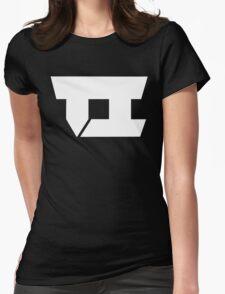 Team Impulse Official Logo (White) Womens Fitted T-Shirt