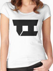 Team Impulse Official Logo (Black) Women's Fitted Scoop T-Shirt