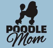 Poodle Mom Kids Tee