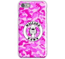 Pink Camo - Mallard Down iPhone Case/Skin