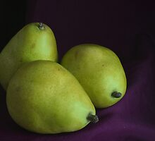 Three Pears by Stephen Thomas
